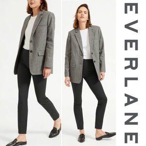 Everlane Side Zip Work Pants Size 6 Charcoal